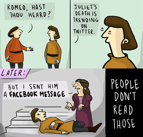 facebook,romeo and juliet,web comics