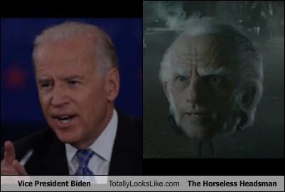 totally looks like joe biden horseless headsman