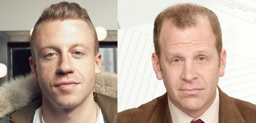 totally looks like,the office,Macklemore,toby flenderson