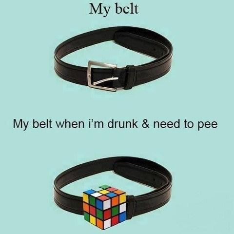 beer belt drunk funny puzzle - 7941008384