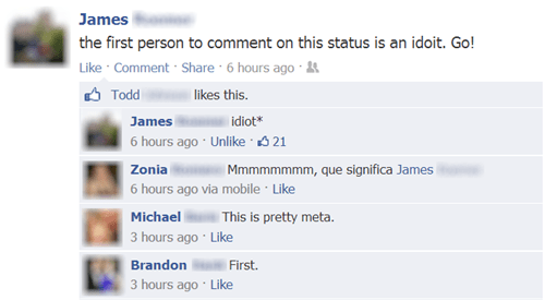 idiots first comment - 7941217536