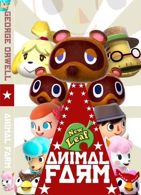 animal farm animal crossing new leaf - 7941281024