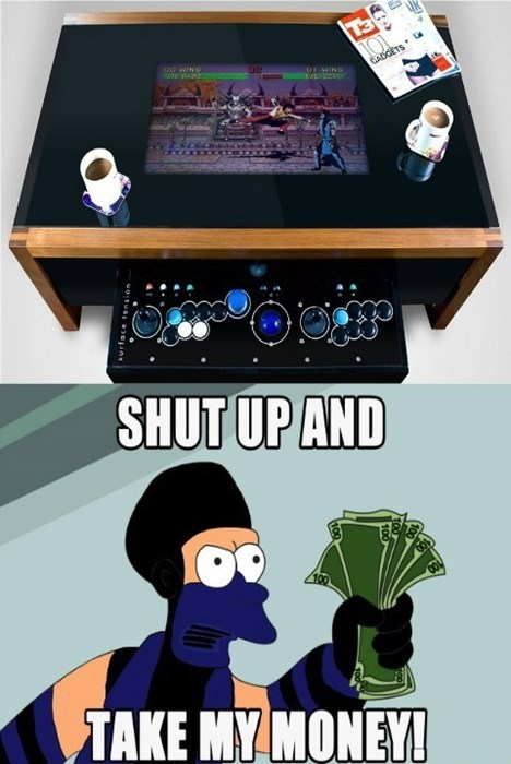 money shut up and take my money Mortal Kombat