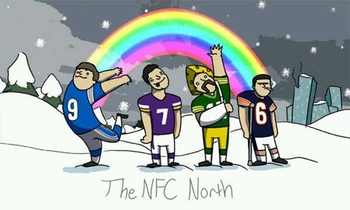 football sports NFC North quarterbacks nfl - 7941464832