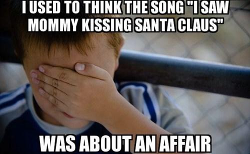confession kid advice animals Memes santa i saw mommy kissing santa claus - 7941707264