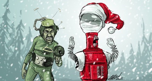 Tom Claus vs The Martians