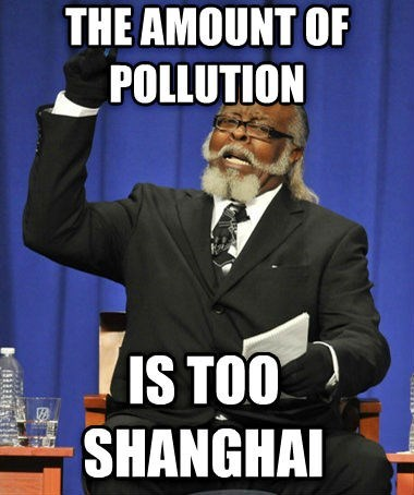 China is Too Damn Polluted