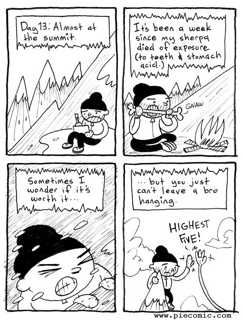 cannibalism high five web comics - 7941731072