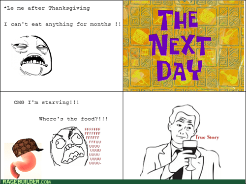 Thanksgiving Rage!