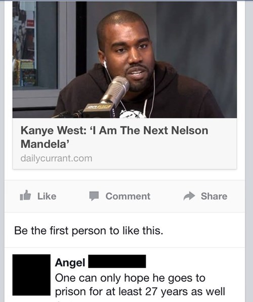 FAIL kanye west nelson mandela failbook - 7942107648
