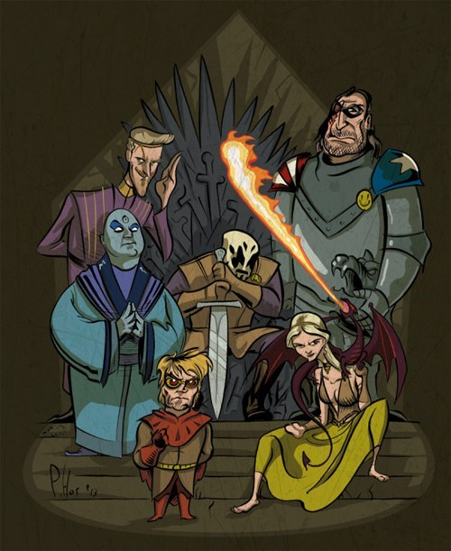 watchmen mashup art Game of Thrones - 7942262528