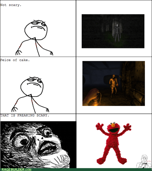 elmo,fear,slenderman