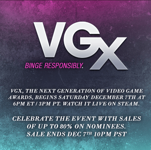 steam sales steam sale vgx Video Game Coverage - 7943027456