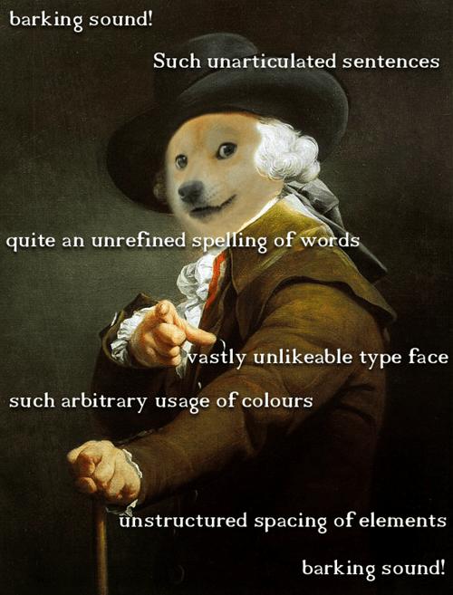 Joseph Ducreux,Memes,doge