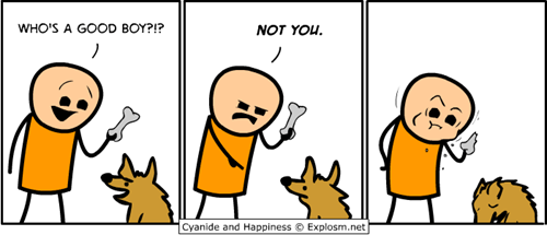 dogs wtf treats web comics - 7943472640