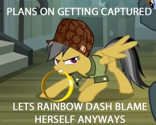 daring do,MLP,scumbag