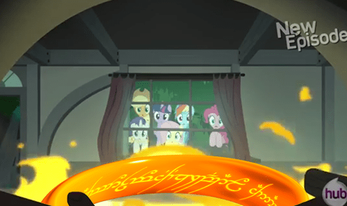 Lord of the Rings,one ring,mane 6