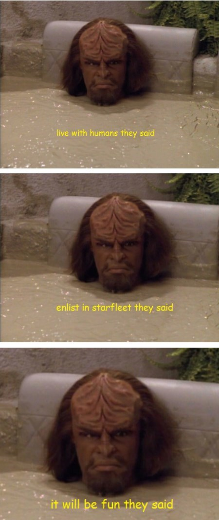 humans Star Trek TNG Worf - 7943751936