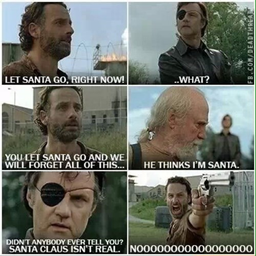 the governor Rick Grimes santa hershel greene - 7943767040