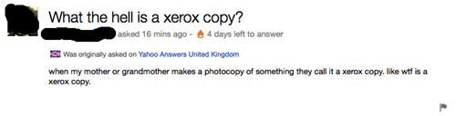 ignorance,xerox