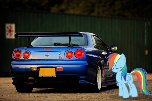 Bronies cars puns rainbow dash