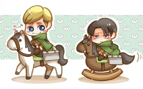 anime Fan Art attack on titan chibi - 7944427008