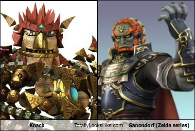 Knack Totally Looks Like Ganondorf (Zelda series)