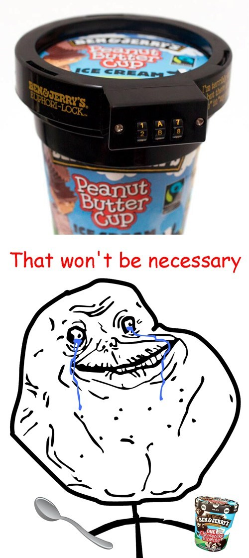 ben-and-jerrys forever alone ice cream - 7944930048