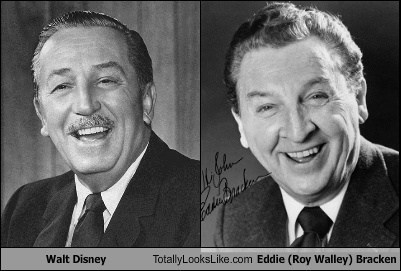 eddie bracekn,totally looks like,walt disney