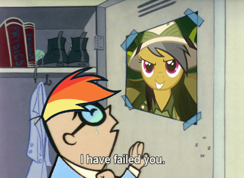 mashup,MLP,daring do,dexters-lab