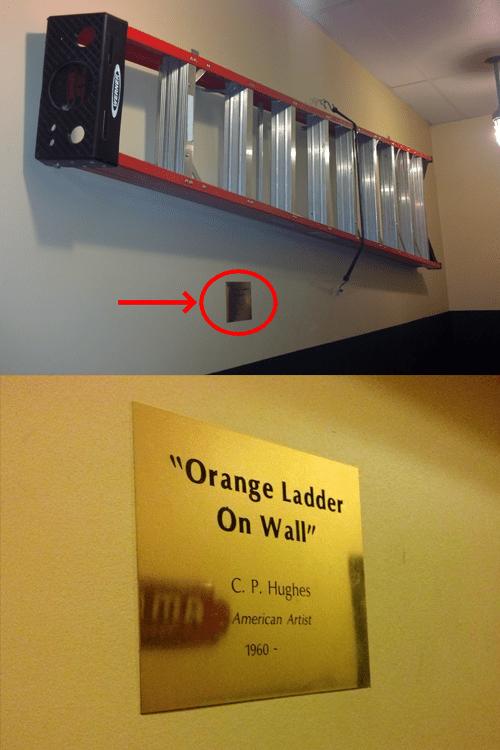 art,Dada,ladders