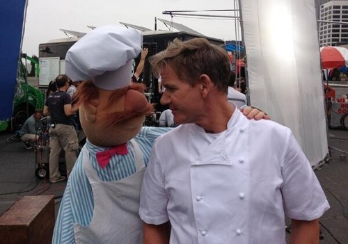 muppets,gordon ramsay,chef,face off,swedish chef