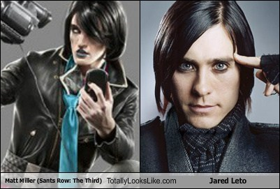 jared leto totally looks like matt miller