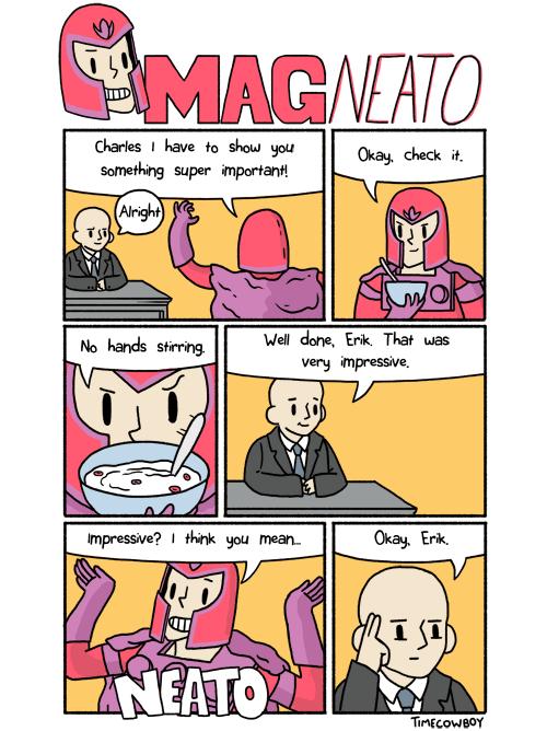 Magneto x men professor x web comics - 7945606400