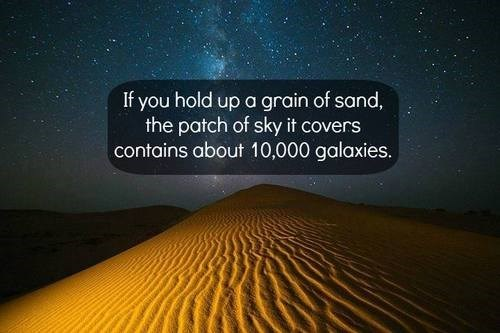 galaxies sand stars funny - 7945635584