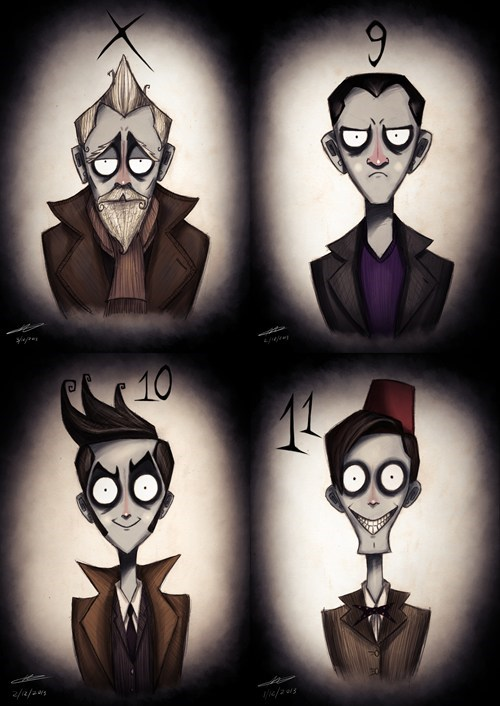 Fan Art,tim burton,doctor who