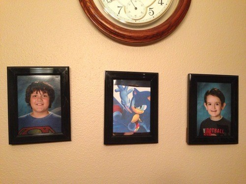 kids,photos,sonic the hedgehog,parenting