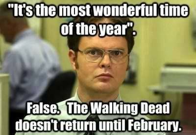christmas,dwight schrute,The Walking Dead