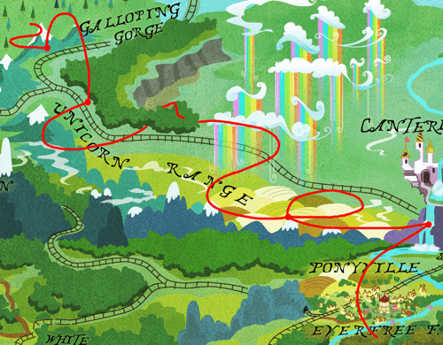 daring do Indiana Jones pinkie pie Maps