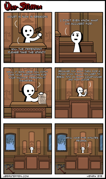 court mental illness web comics - 7946297600