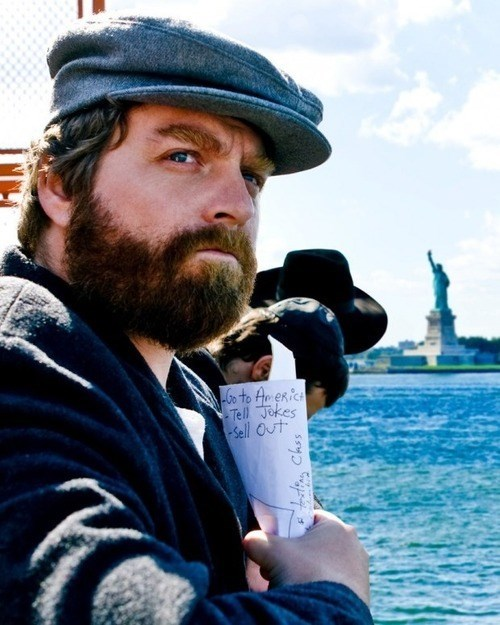 america dreams comedy Zach Galifianakis - 7946300416