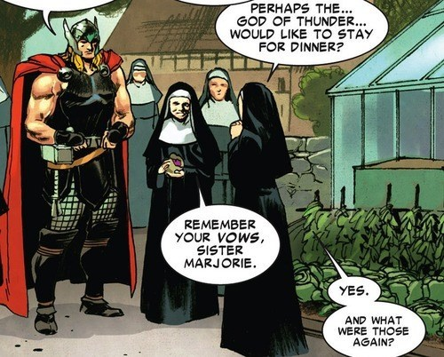 vows Thor chastity off the page - 7946450688
