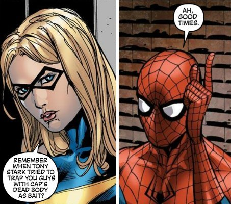 off the page Spider-Man avengers - 7946488576