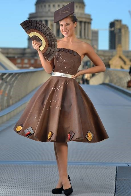 fashion chocolate DIY food dress poorly dressed - 7946564096