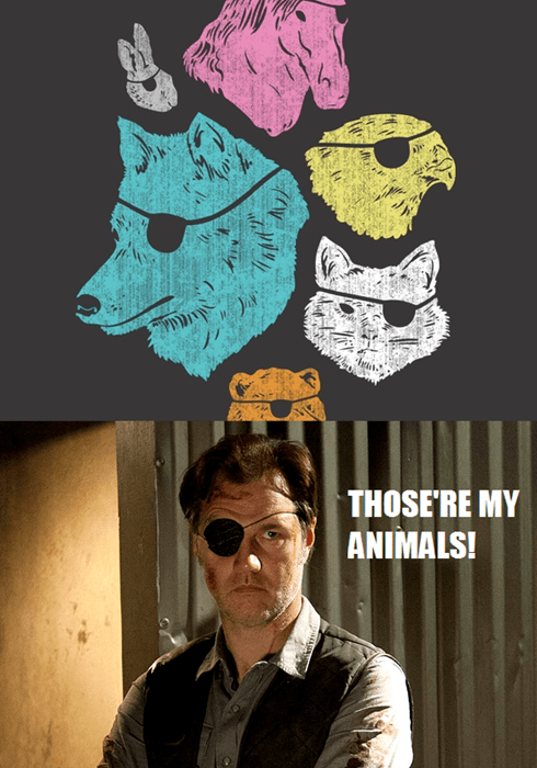 animals eye patch the governor - 7946577408