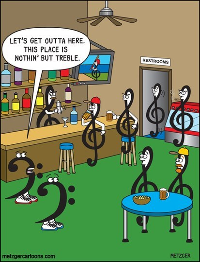bars treble clef bass clef web comics - 7946603520