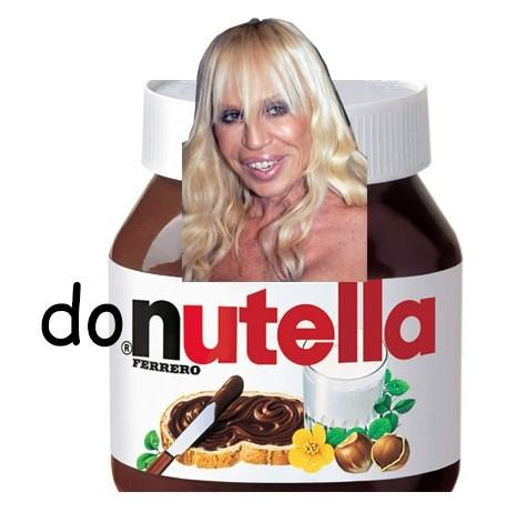 donatella versace pun nutella - 7946614784