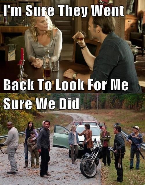 andrea,the governor,The Walking Dead