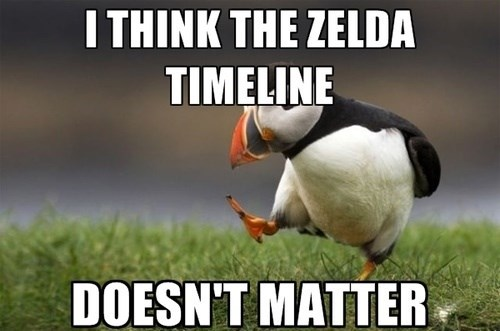 Memes,zelda,unpopular opinion puffin