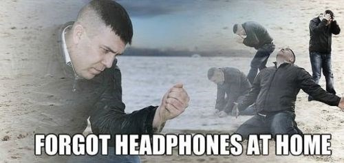 headphones,Sad